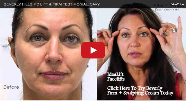 IDEALIFT Reviews LIFT Firm Sculpting Cream Fountain of Youth