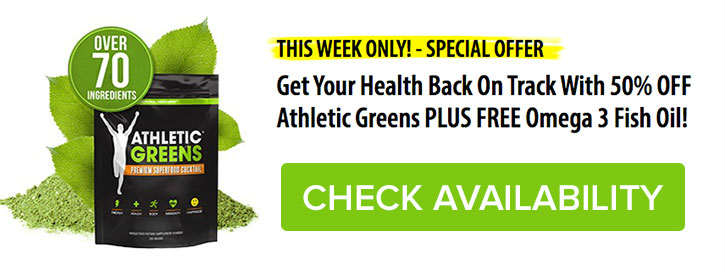 ATHLETIC GREENS Drinks PREMIUM Superfood Cocktail Powder Reviews