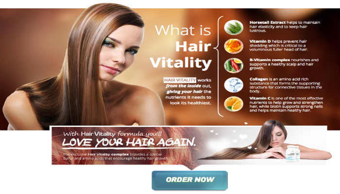 Apex Hair Vitality Reviews- SCAM? Hair Loss Treatment -Ingredient and Vitamins