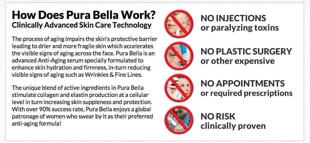 PURA BELLA Reviews Anti-Aging Instant Face Lift- SCAM?