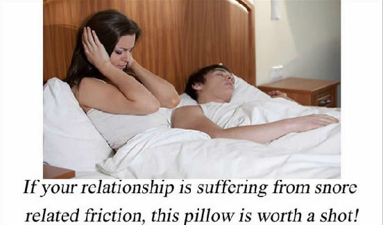 Snoreless Pillow Anti-Snore Pillow Reviews- Is It a SCAM? Can It Stop Snoring?
