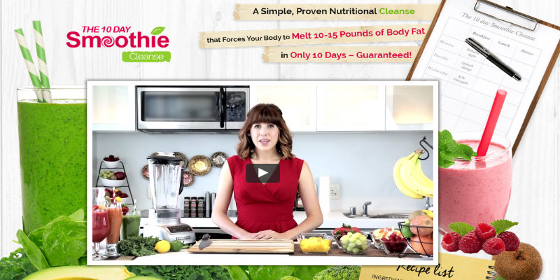 10 Day Green Smoothie Cleanse Reviews: Lose 10 to 15 Pounds in Just 10 days!