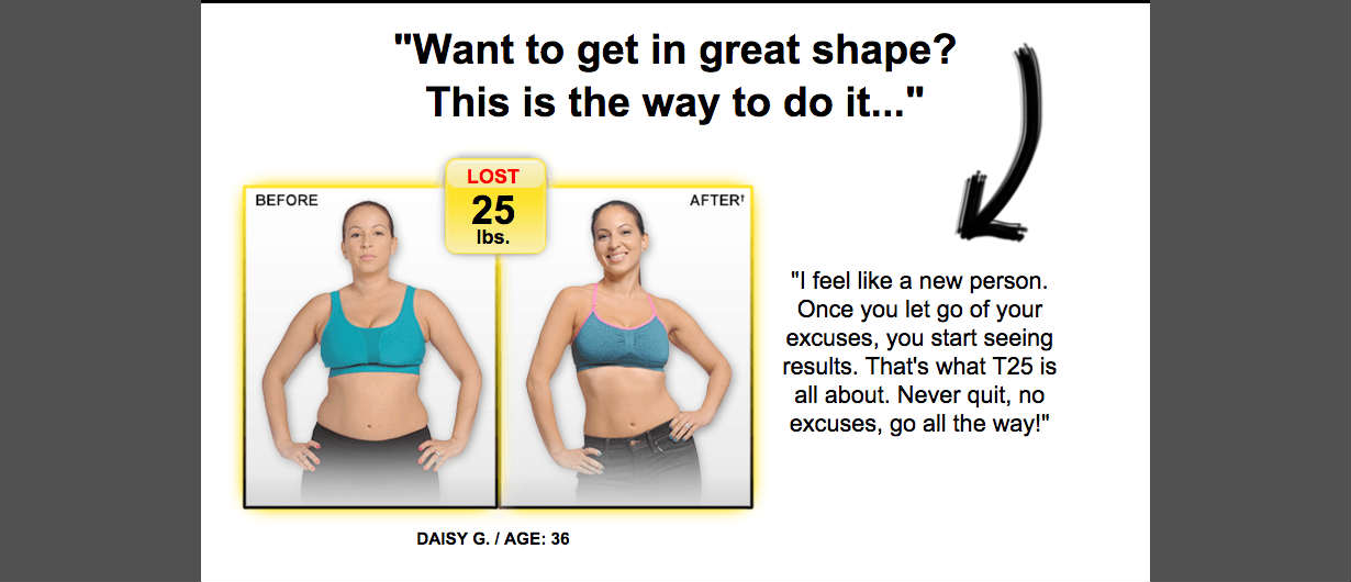 FOCUS T25 Workout - NEW Shaun T 25 Minute Workouts T25-15