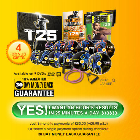focus t25 FOCUS T25 Workout - NEW Shaun T 25 Minute Workouts
