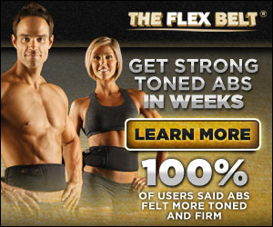 FLEX BELT Reviews -SHOCKING Belly Belt To Lose Belly Fat, Ab Toning Belt