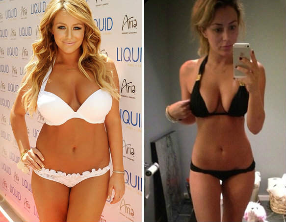 stomach fat weight loss before and after