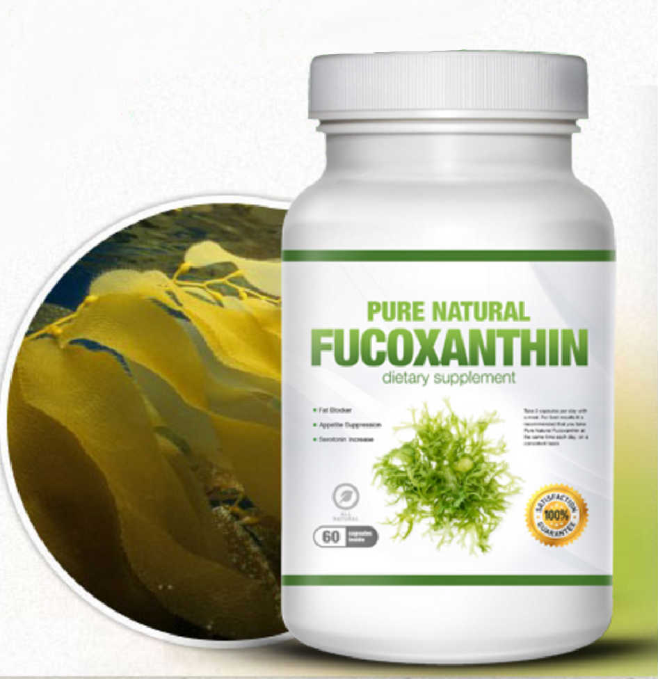 Pure Fucoxanthin SHOCKING Weight Loss