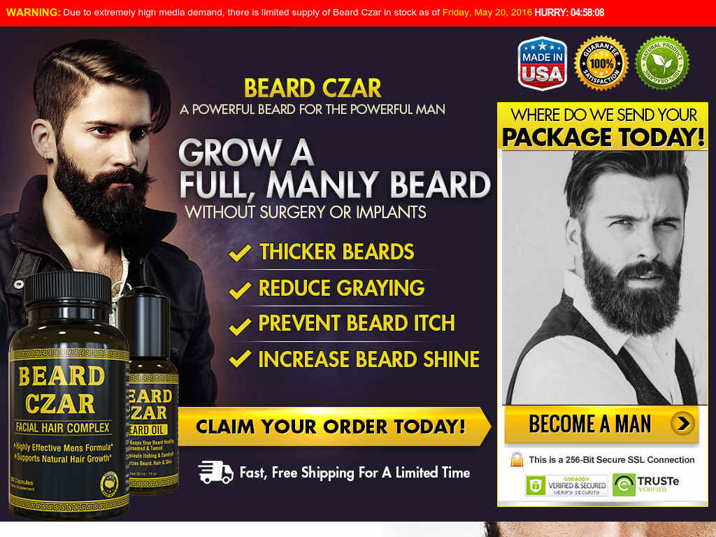 The Best Beard Growth Product