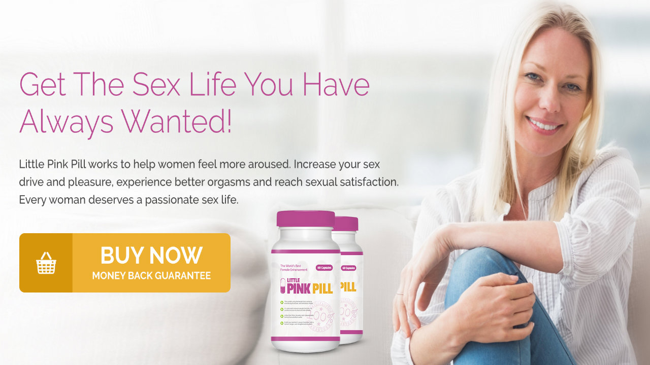 Little Pink Pill Female Libido Booster