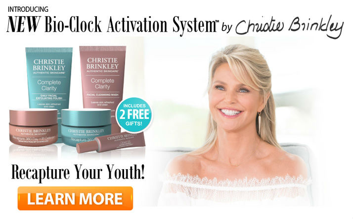 CHRISTY BRINKLEY 2016 SKIN CARE - Shocking Reviews
