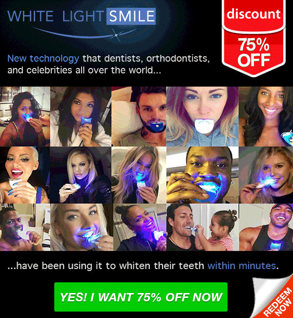 WHITE LIGHT SMILE REVIEWS - Is Scam or Legit