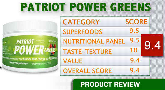 Patriot Power Greens Reviews Healthy Drinks