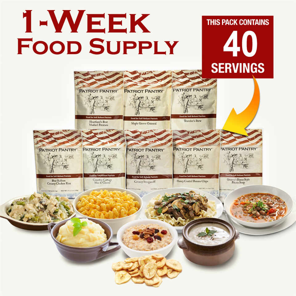 FOOD FOR PATRIOTS Reviews Survival Food Kits