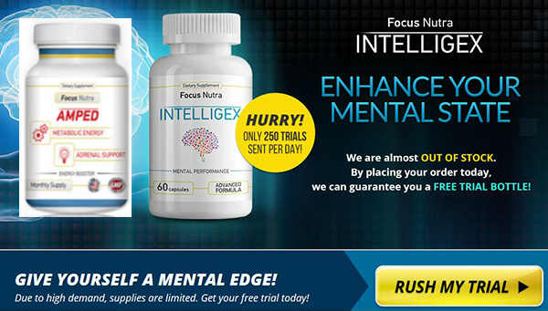 INTELLIGEX REVIEW Amped FOCUS NUTRA