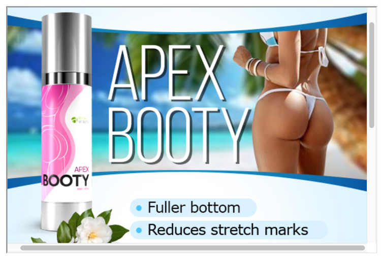 APEX BOOTY POP - Give Your Butt That Sexy Looking Lift Fuller Booty!