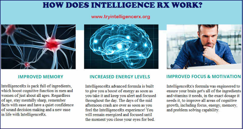INTELLIGENCERX - Smart Nootropic Pill