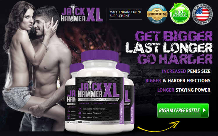 JACK HAMMER XL - Advanced Natural Male Enhancement