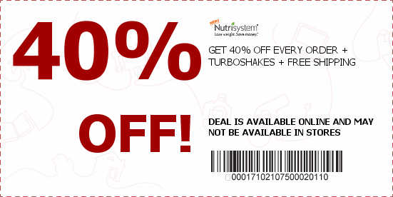 NUTRISYSTEM COUPON - Diet Plan to Lose Weight Fast