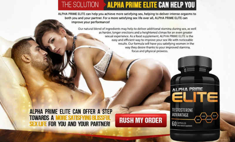 Alpha Prime Elite - Premium Male Enhancement Formula