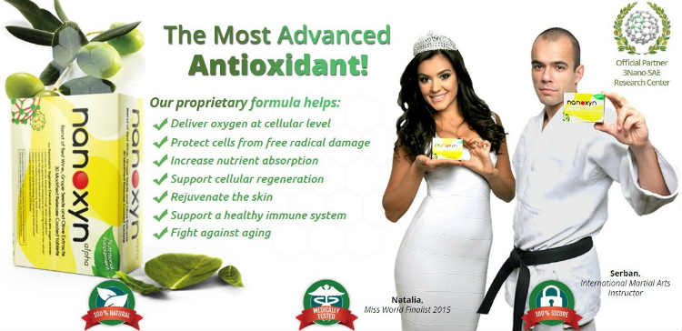Nanoxyn Alpha Revolutionary Dietary Antioxidant Supplement
