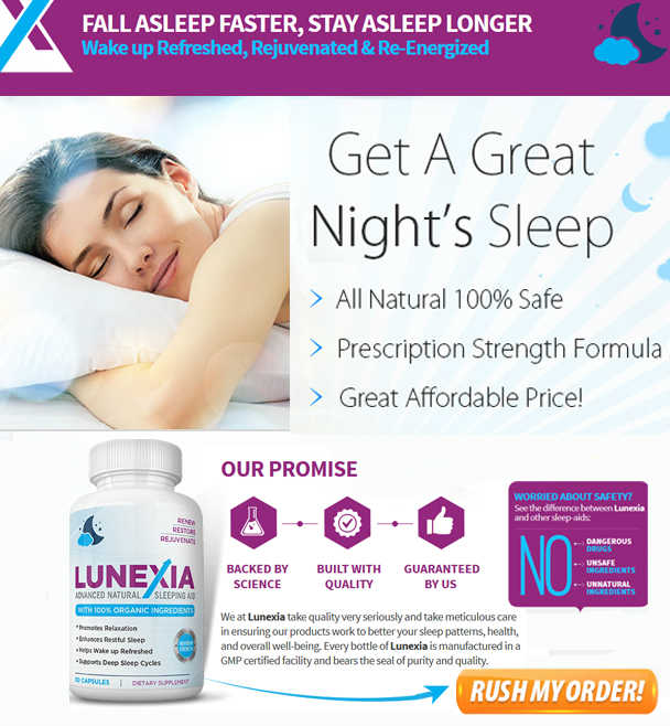Lunexia Sleeping Aid - Help You Fall Asleep Naturally