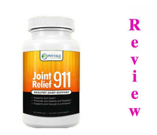 JOINT RELIEF 911 - Natural Long Term Relief for Joint Discomfort