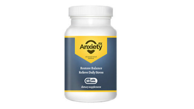 ANXIETY FX - Potent Help to Relieve Symptoms of Anxiety, Depression