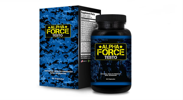 Alpha Force Testo Reviews - Natural Testosterone Booster