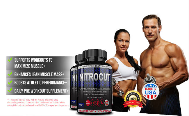 NITROCUT - Gain Fast Muscle - Better Workout, Strength & Recovery