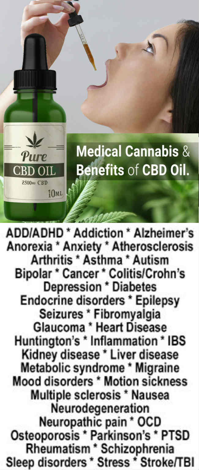 CBD OIL BENEFITS LIST - CBD oil for Cancer, Anxiety, Pain Relief, Seizures