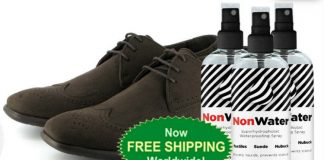 NonWater Spray - Best Hydrophobic Spray for Shoes and Clothes