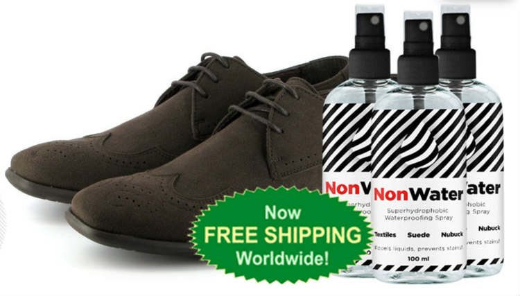 NonWater Spray - Offers Invisible Protection for Your Clothes