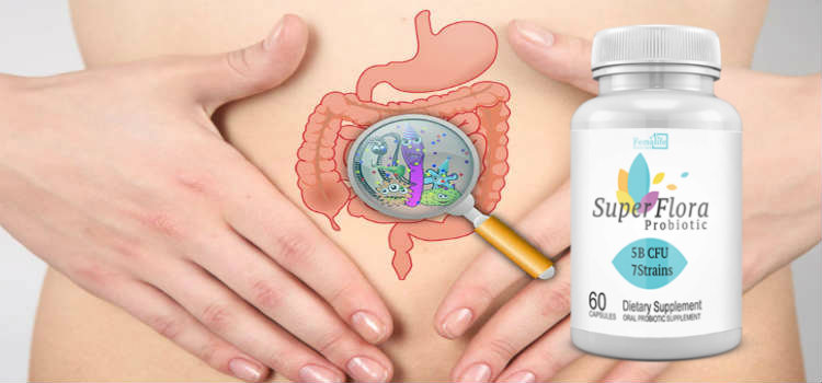 50 Billion Probiotic Super Flora Probiotic