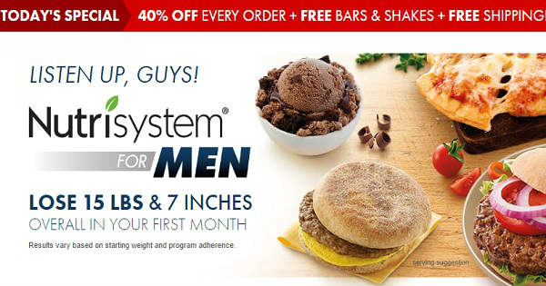 NUTRISYSTEM MEN - (UPDATED 2017): Meal Plan to Lose weight Fast