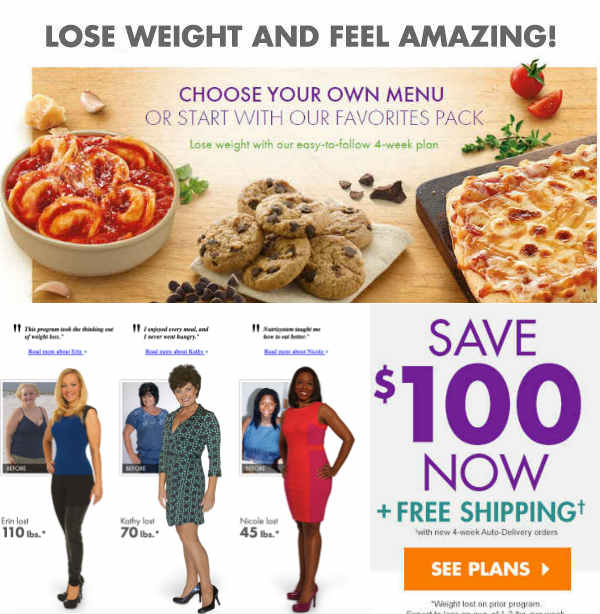 Nutrisystem Diet Plan to Lose Weight Fast