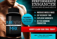 PURE NITRO MAX - Potent Muscle Gains By Boosting Nitric Oxide Levels