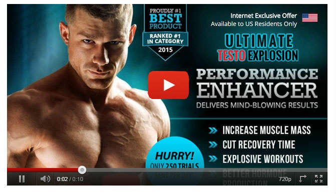 Ultimate Testo Explosion Cost - Testosterone Boosting Pill for Erectile