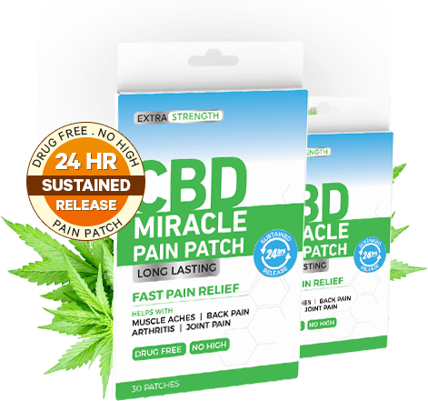 order CBD Miracle Pain Patch fast pain relief