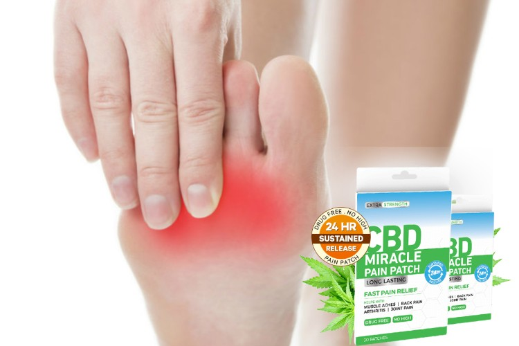Nerve Damage CBD Miracle Pain Patch Fast Relief